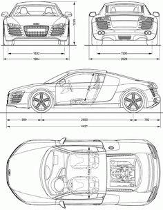 BMW blueprint - Cars and motor Car Design Sketch, Car Sketch, Bmw M4 Cabrio, 2008 Audi R8, Model Auto, Allroad Audi, Stock Car, Bmw Autos, 3d Cad Models