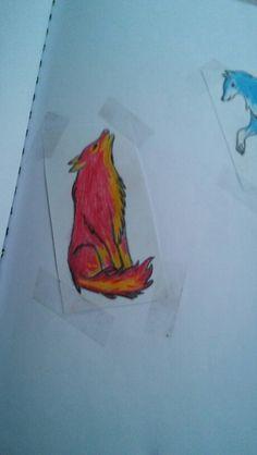 Fire #wolf