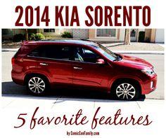 2014 Kia Sorento - 5 Favorite Features - Comic Con Family