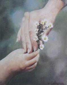 Fine art 8X10 original oil painting on canvas by jennifercalhoun1, $75.00