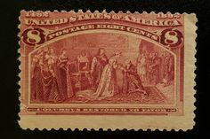 "TJS: Scott 236 ""1892 8c COLUMBUS RESTORED TO FAVOR"" CV $675 MINT-NH-NEVER USED"