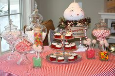 Children's Christmas Party Display