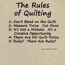 Tina Gonzales- Holguin The Rules of Quilting+ Quilting Room, Quilting Tips, Quilting Tutorials, Quilting Projects, Quilting Designs, Sewing Humor, Quilting Quotes, Sewing Quotes, Quilt Labels