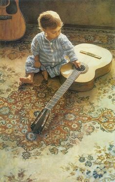 """Musical Appreciation"" by #SteveHanks #watercolor"