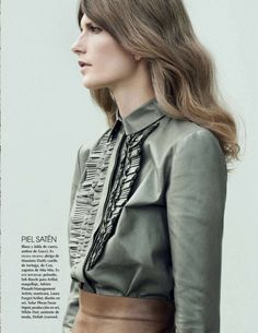 Valerija Kelava by Julia Noni for Vogue Mexico January 2015 gucci