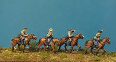 Virginia Cavalry Sergeant, trumpeter + trooper
