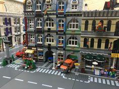 Lego Custom Modular Building, Town House Like 10182 | eBay
