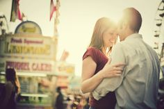 Kate Beck Events: Engagement Shots at the State Fair