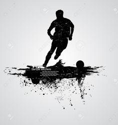 サッカー選手のベクトル