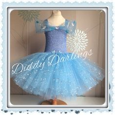 Cinderella Tutu Dress. Sparkly Cinderella 2015 by DiddyDarlings