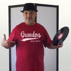 Personalized Grandpa Tshirt  Grandpa since any year  by BRANDED, $24.75