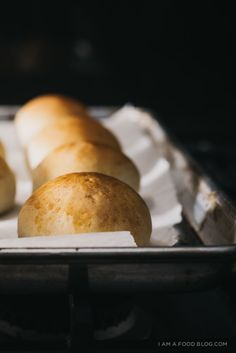 soft and fluffy potato buns - perfect as dinner or slider rolls