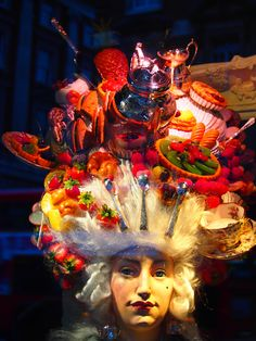 """FORTNUM & MASON, London, UK, """"BUFFET is French for Get It Yourself"""", pinned by Ton van der Veer"""