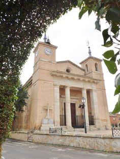 TURLEQUE (TOLEDO) - Iglesia de Ntra. Sra. de la Asunción.  http://realdesanvicentepuebloconencanto.blogspot.com.es/2015/06/turleque-toledo-guia-para-conocer.html