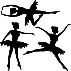 Stickers - DESIGN BY Charlotte - Stickers Danseuses Mono
