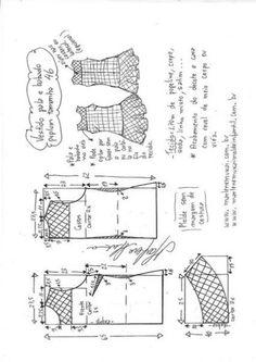 Выкройка женского платья с заниженной талией.Размеры 36-46 евро (Шитье и крой) | Журнал Вдохновение Рукодельницы