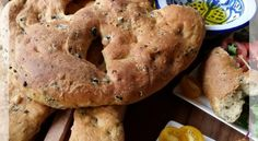 French olive bread