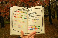 se this as a test page for pens, paints, markers or art supplies.