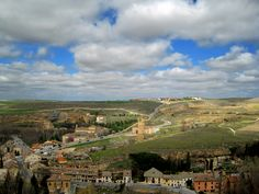 The view from the tower of Segovia's alcazar - Knights Templar from the time of the Crusades in the center - imagine when that was the only structure for miles and miles