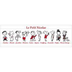 Le sticker les Amis du Petit Nicolas par Art sister met en scène le célèbre personnage Le Petit Nicolas avec ses camarades de classe. Il sera parfait pour égayer la décoration de chambre de votre enfant.