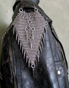 Chainmaille Japanese Lace Jacket Chain on Etsy by celticlady1155