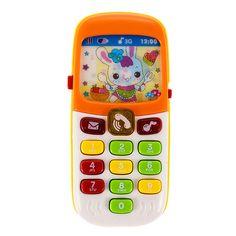 Elektronische Muziekinstrumenten Speelgoed Telefoon Mini Leuke Kids Mobiele Telefoon Fun Muziek Geluid Mobiel Telefoon Educatief Speelgoed