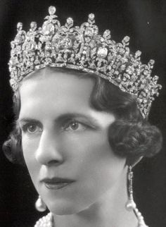 Queen Helen of Romania.  This tiara is owned by the Greek royal family, I believe.