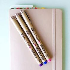 These beautiful Sakura of America pens will add some color to your daily entries ($17 for 6). | 23 Genius Ways You Can Customize Your Bullet Journal