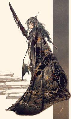 No larger size available Character Illustration, Illustration Art, China Art, Korean Art, Hanfu, Character Design Inspiration, Fantasy Characters, Japanese Art, Female Art
