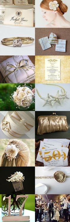 Golden Wedding by parsi on Etsy--Pinned with TreasuryPin.com