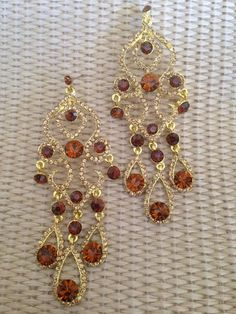 Goddess Chandelier Earrings – Ally's Jewelry Addiction only $8.00 Free Shipping
