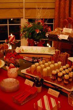 Christmas dinner decoration ideas