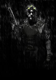 Splinter cell- extinction by LeeBaba on DeviantArt Splinter Cell Blacklist, Tom Clancy's Splinter Cell, King's Quest, Fisher, Arte Cyberpunk, Cyberpunk 2020, Film Inspiration, Video Game Characters, Video Game Art