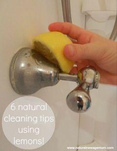 Got Lemons? Six natural cleaning tips using lemons!