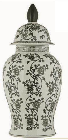 Abajur China Painting, Ginger Jars, Porcelain Vase, Painting Patterns, Arabesque, Paint Designs, Glass Vase, Blue And White, Ceramics