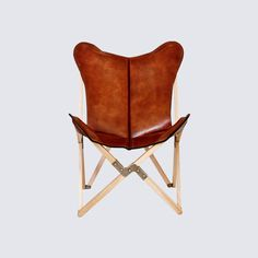 This leather butterfly chair, handcrafted in Argentina using the same premium leather the famed polo saddleries use, is synonymous with iconic modern design