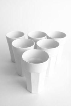 Tumbler Set in crisp white <3