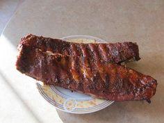 How to Make Smoked BBQ Ribs: includes dry rub recipe & bbq sauce recipe