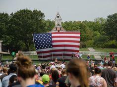 Barack Obama, Living History Farms, IA - 9/1/12 #Obama #Iowa