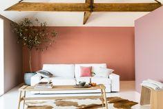 Een woonkamer in aardetinten - Makeover.nl