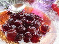 Γλυκό κουταλιού κεράσι !!! ~ ΜΑΓΕΙΡΙΚΗ ΚΑΙ ΣΥΝΤΑΓΕΣ Greek Sweets, Plum, I Am Awesome, Cherry, Pudding, Fruit, Desserts, Food, Tailgate Desserts