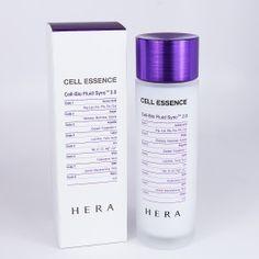 HERA Cell Essence Korean Skincare Anti Wrinkle Glow Bright Youthful Face Skin Missha, Korean Skincare, Anti Wrinkle, Face Skin, Korean Beauty, Glow, Skin Care, Cosmetics, Bottle
