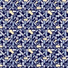 "Arrow Fabric Pattern | Motiv: ""Folge Deinem Weg"" (#68721) © oskaline"