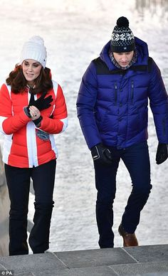 Fun in the snow: The Duke and Duchess will attend an event organised by the Norwegian Ski ...
