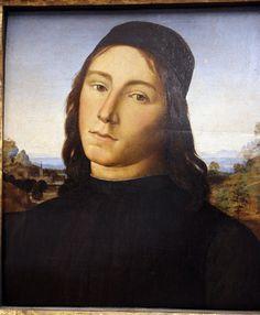 Lorenzo di credi (attr.), ritratto di giovane uomo, 1490-1500 ca. 02.JPG