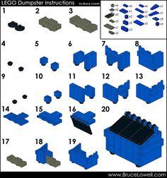 LEGO Dumpster Instructions | Flickr - Photo Sharing!