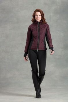 English Tack Shop - Arista Ladies Quilted Combi Flex Jacket , $179.95 (http://www.englishtackshop.com/arista-quilted-riding-jacket/)