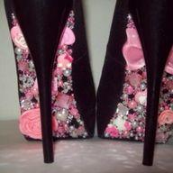 DIY Shoes Update : Glitterly & Glammory Shoe undersides