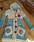 Coat  girl 10-13yar  Hand  Made