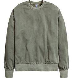 Haider Ackermann Sweatshirt  H&M oversized sweatshirt Raw edge
